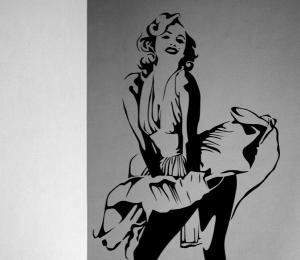 Marilyn Monroe wall Sticker